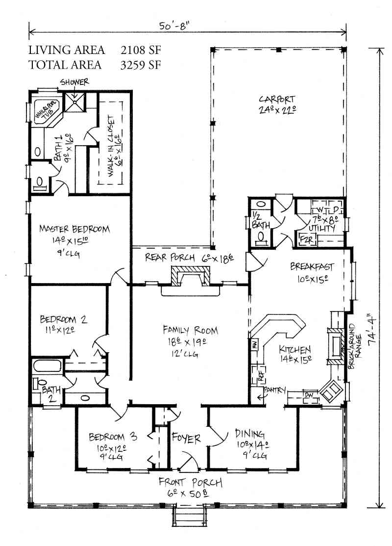 Farm House – Farm House Floor Plan
