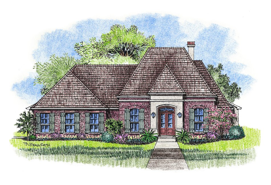 Louisiana House Plans With Bonus Room
