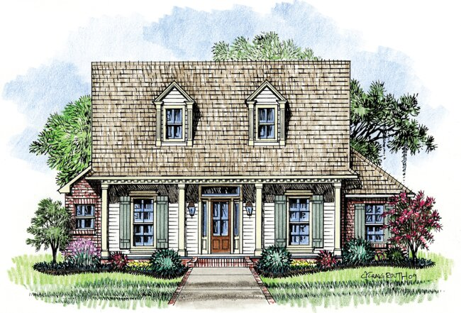 acadian house plans. thomas acadian house plans